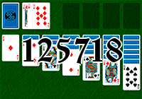 Solitaire №125718