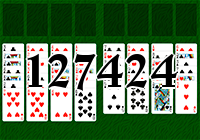 Solitaire №127424