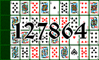 Solitaire №127864