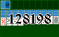 Solitaire №128198