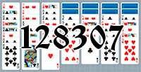 Solitaire №128307