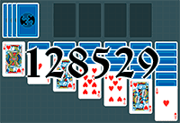 Solitaire №128529