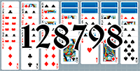 Solitaire №128798