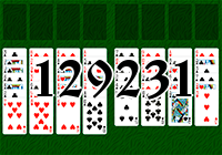 Solitaire №129231