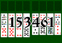 Solitaire №153461
