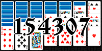 Solitaire №154307