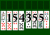 Solitaire №154355
