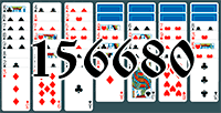 Solitaire №156680