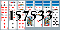 Solitaire №157533