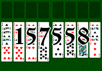 Solitaire №157558