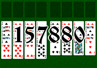 Solitaire №157880