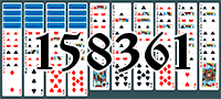Solitaire №158361