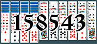 Solitaire №158543