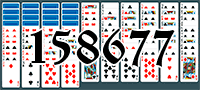 Solitaire №158677