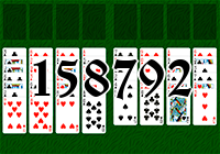 Solitaire №158792