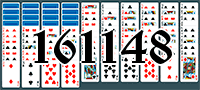 Solitaire №161148