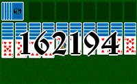Solitaire №162194