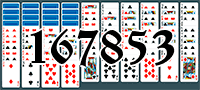 Solitaire №167853