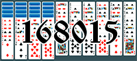 Solitaire №168015