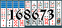 Solitaire №168673