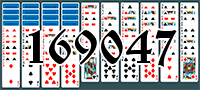 Solitaire №169047