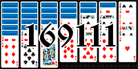 Solitaire №169111