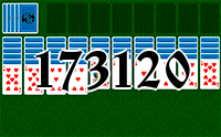 Solitaire №173120