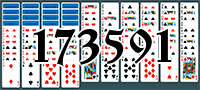 Solitaire №173591