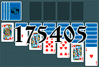 Solitaire №175405