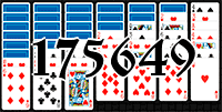 Solitaire №175649