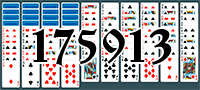 Solitaire №175913