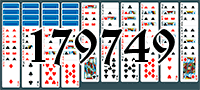 Solitaire №179749