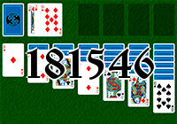Solitaire №181546