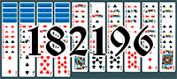 Solitaire №182196