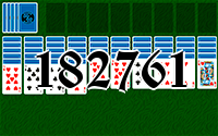 Solitaire №182761