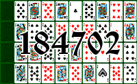 Solitaire №184702