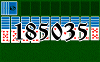 Solitaire №185035
