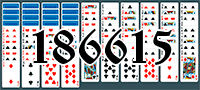 Solitaire №186615