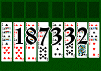 Solitaire №187332