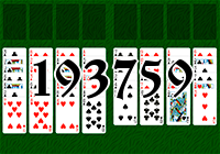 Solitaire №193759