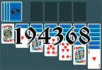 Solitaire №194368