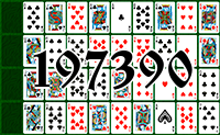 Solitaire №197390
