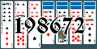 Solitaire №198672