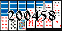 Solitaire №200458