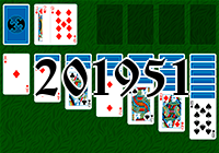 Solitaire №201951