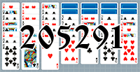 Solitaire №205291