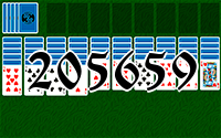 Solitaire №205659