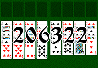 Solitaire №206322