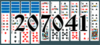 Solitaire №207041