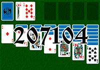 Solitaire №207104